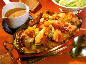 Chicken Veronique Stunning Chicken Véronique  The Greasy Spoon  Food & Culture Review