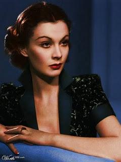Vivien Leigh colour