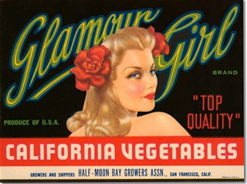 Glamour Girl Vegetables