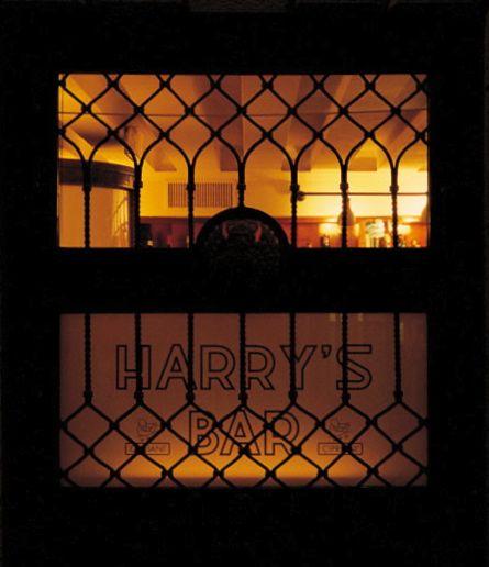 Harrys' Bar Window