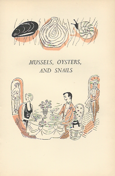 Mussels, Oysters and Snails