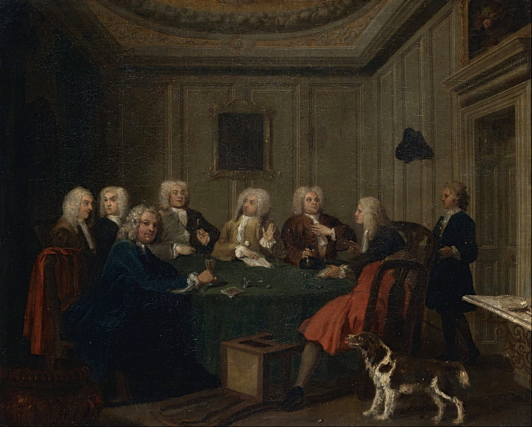 Joseph Highmore, A Club of Gentlemen