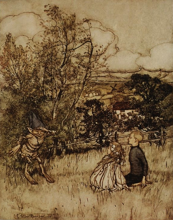 Puck of Pook's Hill, Rackham