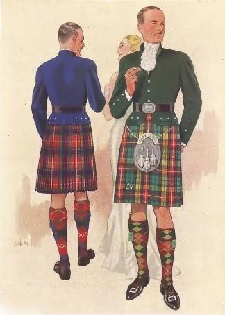 1930's Kilt Ad - 1