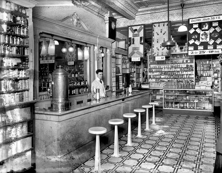 Vintage American Soda Fountain - 1