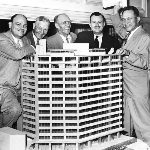 Denver Petroleum Club  1953